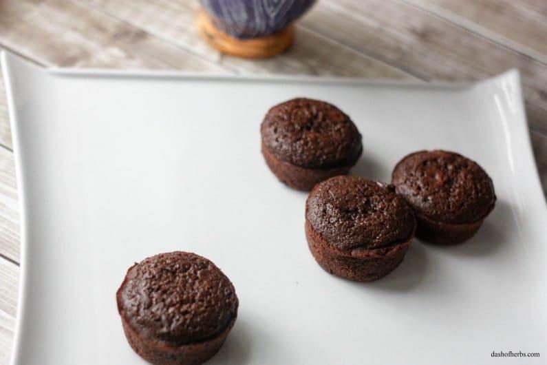 Choco-Chocolate Chip Muffins
