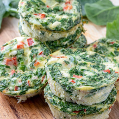 Feta and Veggie Frittatas