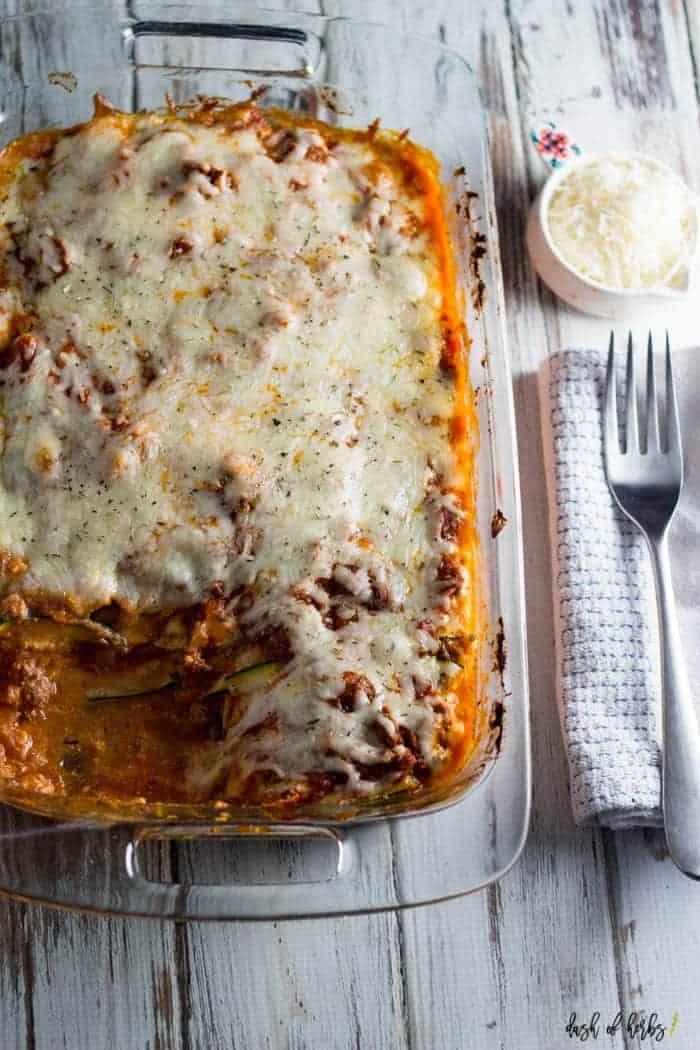 Lightened Up Lasagna