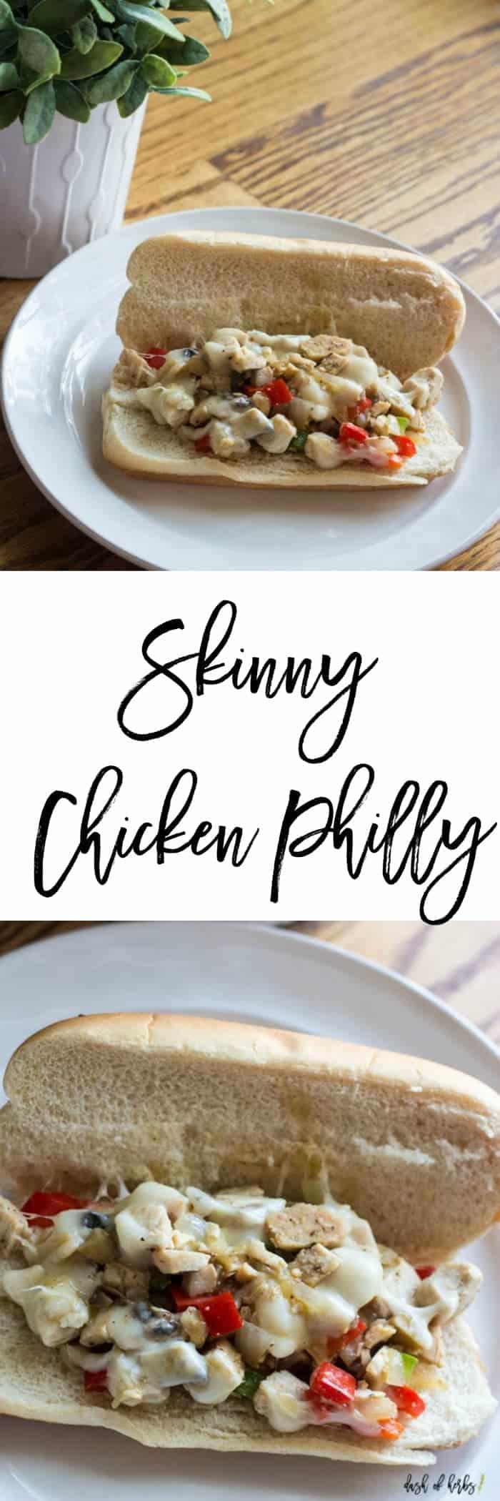 Skinny Chicken Philly