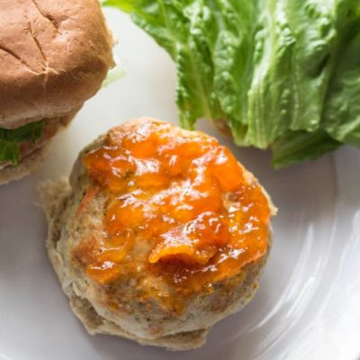 Sweet and Spicy Turkey Sliders