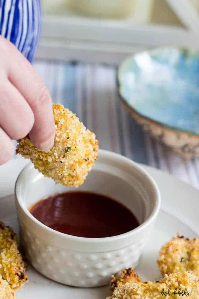 Oven Baked Crispy Panko Chicken Tenders