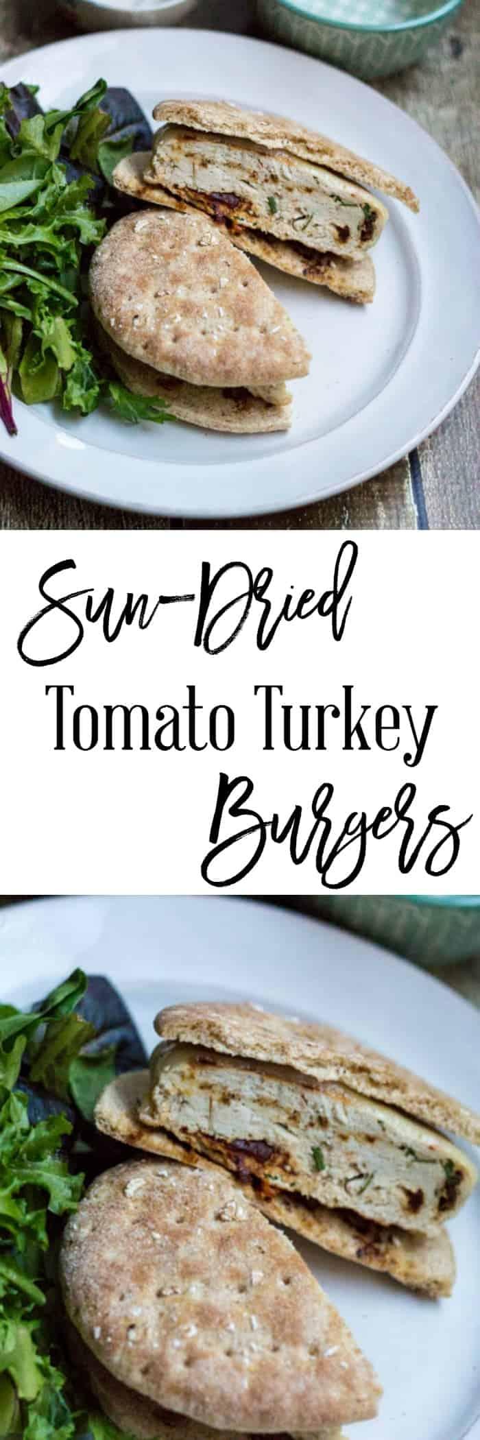Sun-Dried Tomato Turkey Burgers