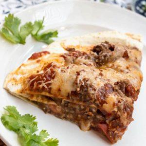 Hearty Beef Taco Bake