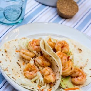 Quick and Easy Sweet Chili Shrimp Tacos