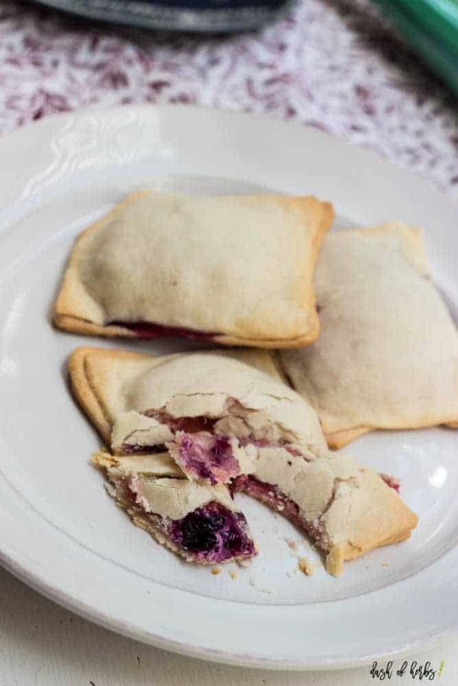 Strawberry and Blueberry Raviolis