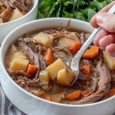 Slow Cooker Easy Beef Stew