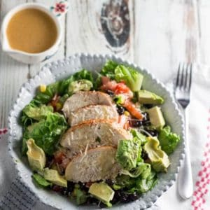 Baked Paprika Chicken Chopped Salad