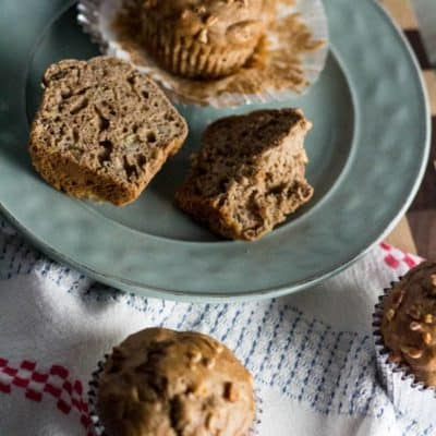 Banana Nut Morning Glory Muffins