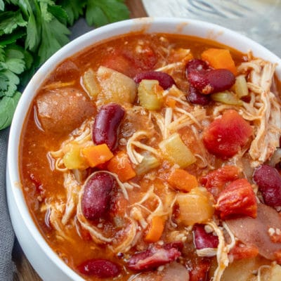 Instant Pot Protein Packed Chicken Stew
