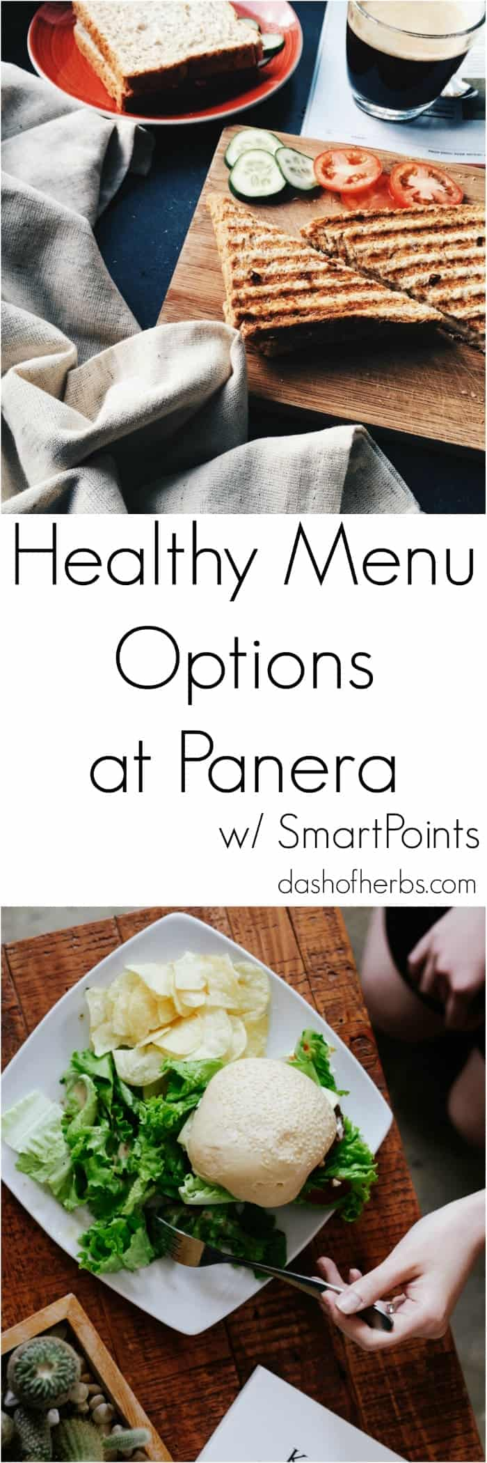 Healthy Menu Options at Panera Bread