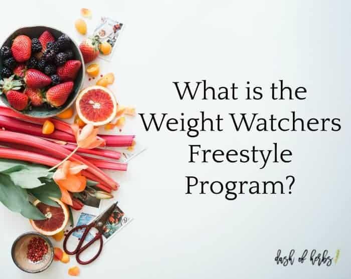 Weight Watchers Freestyle Program